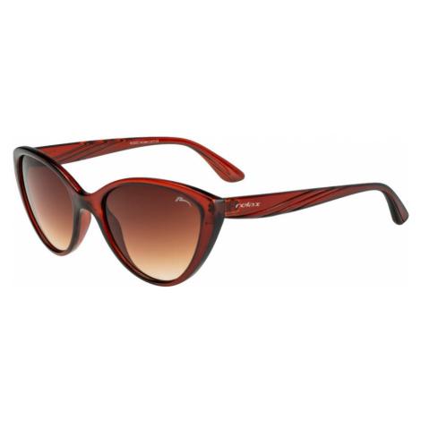 RELAX Nicollet Dámské sluneční brýle R0332C hnědá 20L