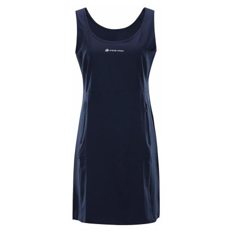 Dámské šaty Alpine Pro ELANDA 4 - tmavě modrá