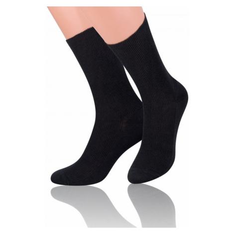 Pánské ponožky 018 black Steven