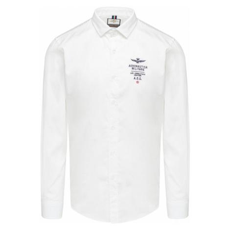 Koszula AERONAUTICA MILITARE bílá
