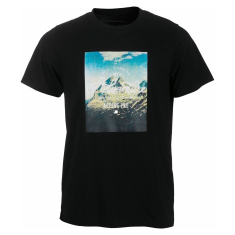 Pánské triko Alpine Pro ABIC 3 - černá