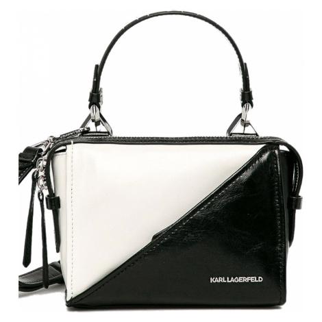 Černo-bílá kabelka - KARL LAGERFELD