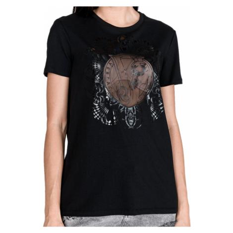 Černé tričko - VERSACE JEANS
