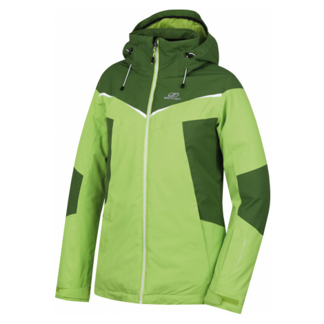 HANNAH NEXA Dámská lyžařská bunda 10007189HHX01 lime green/dill