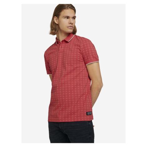 Polo triko Tom Tailor Červená