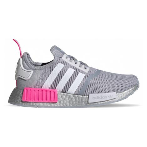 Adidas Nmd_R1 Junior Halo Silver/Ftwr White/Screaming Pink šedé FX5025
