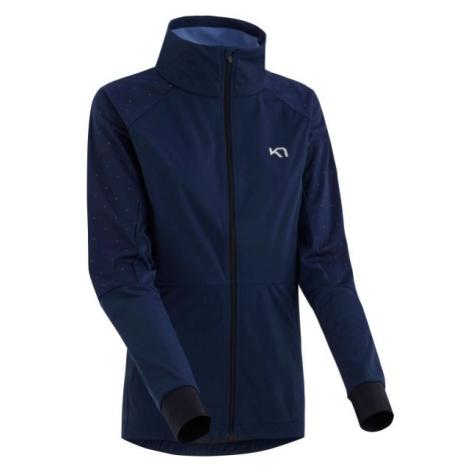 KARI TRAA SIGNE JACKET tmavě modrá - Dámská sportovní bunda