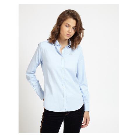 Košile La Martina Shirt L/S Oxford Stretch - Modrá