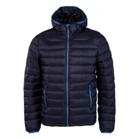 Willard LESS tmavě modrá - Dětská prošívaná bunda