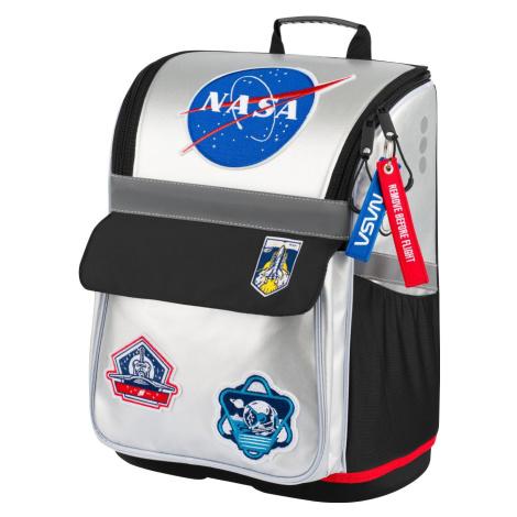 Zipová voděodolná školní aktovka pro kluky s motivem NASA Baagl