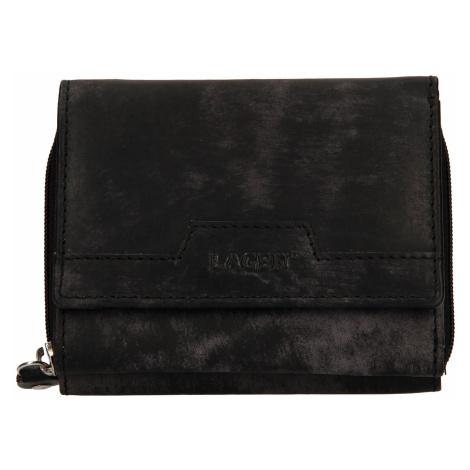 Dámská kožená peněženka Lagen Olivia - černá