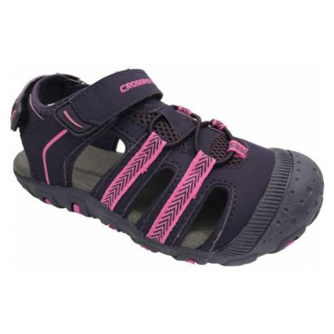 Crossroad MILL fialová - Dětské sandály