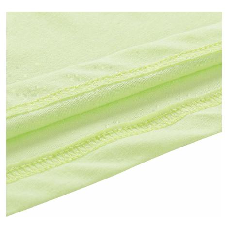 Dámské triko Alpine Pro LAILA 3 - světle zelená