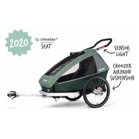Dětský sportovní vozík Croozer Kid for 1 Plus Vaaya jungle green