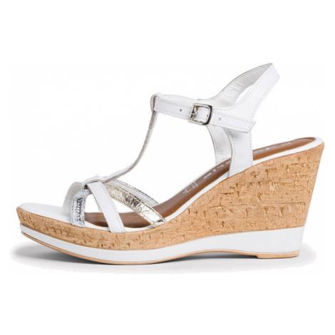 Tamaris Dámské sandále 1-1-28347-24-197 White Comb