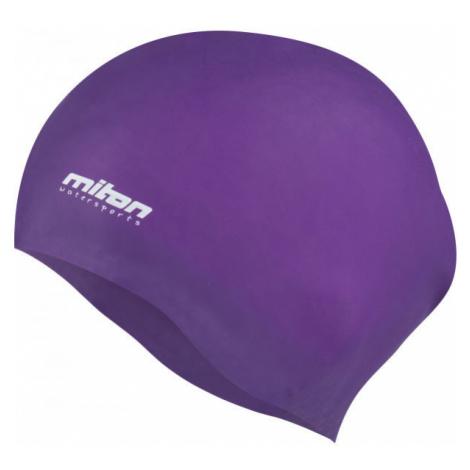 Miton CORAL fialová - Juniorská plavecká čepice