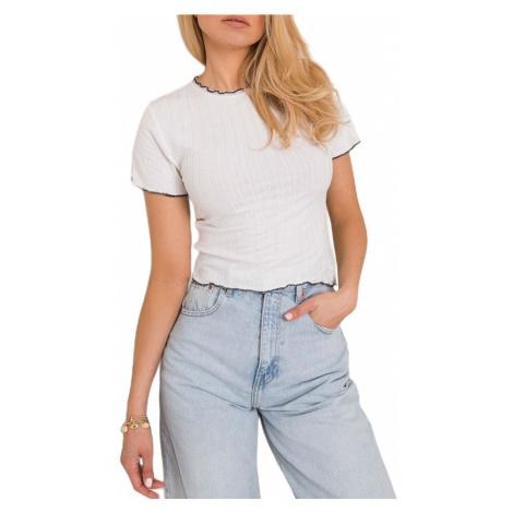 Dámské bílé tričko Rue Paris