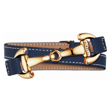 Náramek ALBA DIMACCI, navy blue/zlatý