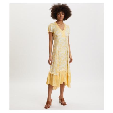Šaty Odd Molly Pretty Printed Dress - Žlutá