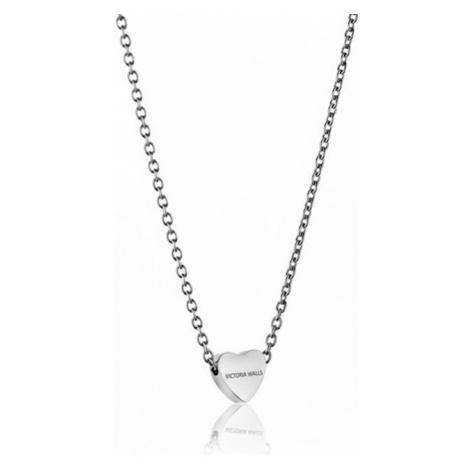 Victoria Walls Ocelový náhrdelník se srdíčkem VN1051S
