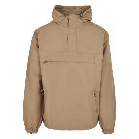 Summer Pull Over Jacket - camel Urban Classics