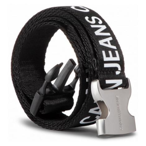 Calvin Klein Calvin Klein dámský černý opasek Tape Clip Belt