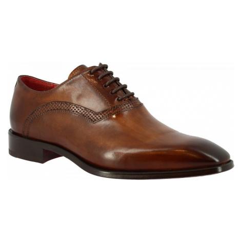 Leonardo Shoes 6888 MONTECARLO BRANDY Hnědá
