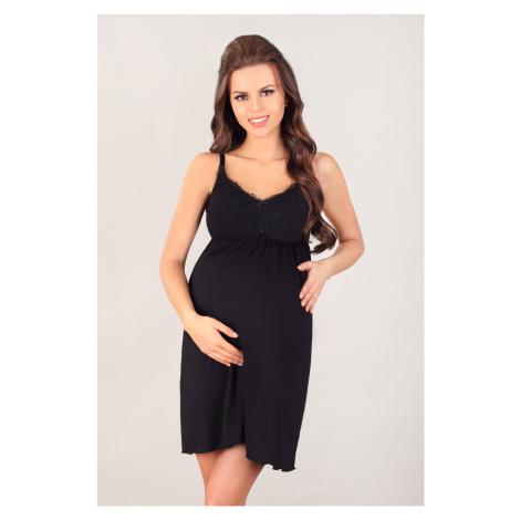 Dámská noční košilka Lupoline 3025 K černá