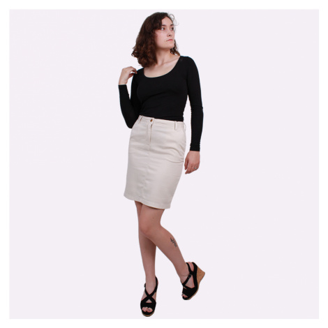 GANT GANT dámská béžová sukně O2. MODERN CHINO