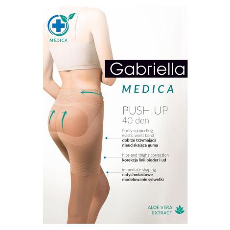 Punčochy Gabriella Medica Push-up 40 Den Code 128 béžová 2-s