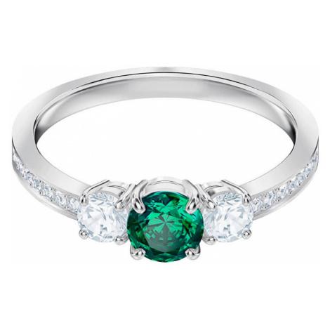 Swarovski Třpytivý prsten ATTRACT TRILOGY