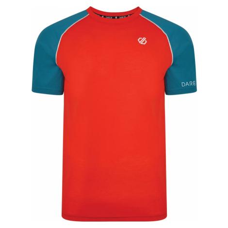 Pánské funkční tričko Dare2b INSTITUTE červená