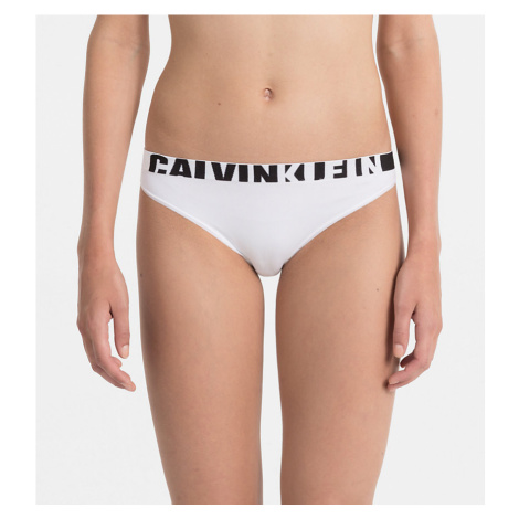 Bikiny Calvin Klein seamless logo - bílé