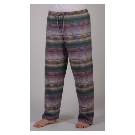 Dámské pyžamové kalhoty Olga, 2XL, mocca Vienetta Secret