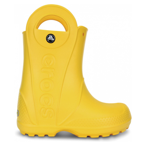 Crocs Handle It Rain Boot Kids Yel J3
