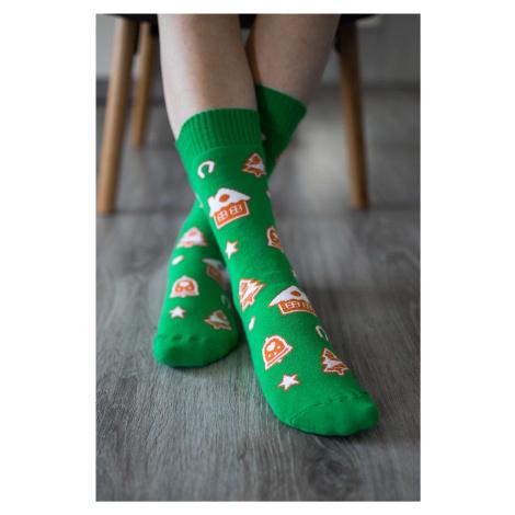 Zimní barefoot ponožky - Perníčky 43-46