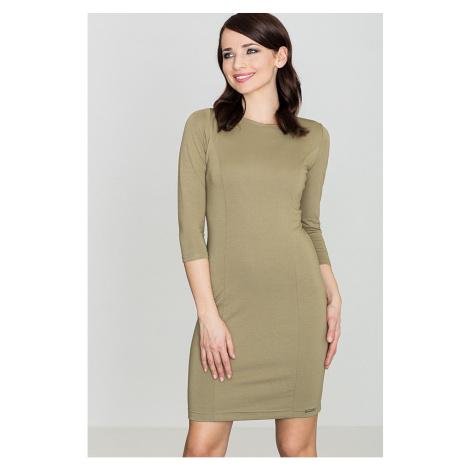 Lenitif Woman's Dress K317 Olive