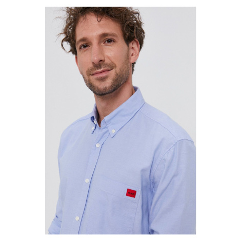 Hugo - Bavlněná košile Hugo Boss