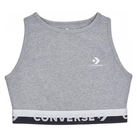 Sivý top Converse High Neck