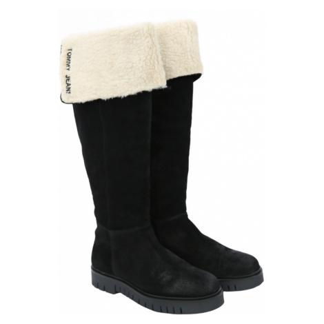 Tommy Jeans dámské zimní kozačky Tommy Hilfiger