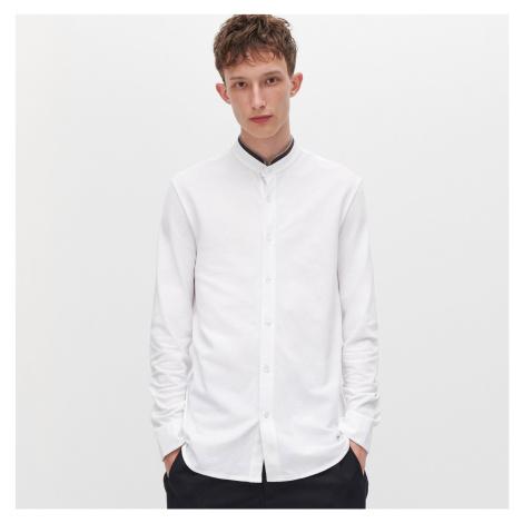 Reserved - Košile se stojáčkem - Bílá