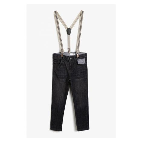 Koton Black Girl Trousers