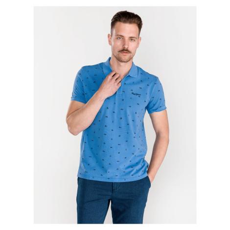 Sergio Polo triko Pepe Jeans Modrá