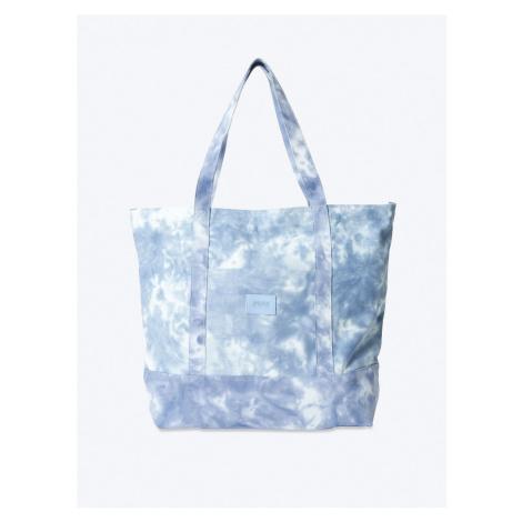 Victorias Secret PINK modrá plátěná taška Tie-Dye Canvas Tote Victoria's Secret
