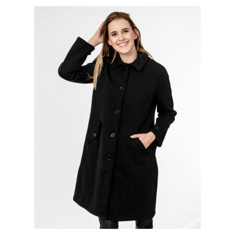 Černý bavlněný kabát - CYCLE