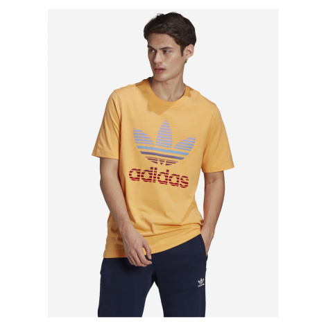 Trefoil Ombre Triko adidas Originals Žlutá
