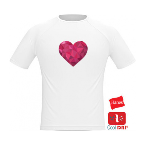 Pánské tričko SPORT Srdce mozaika
