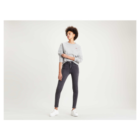 Levi´s® jeans 721 High Rise Skinny dámské tmavě šedé