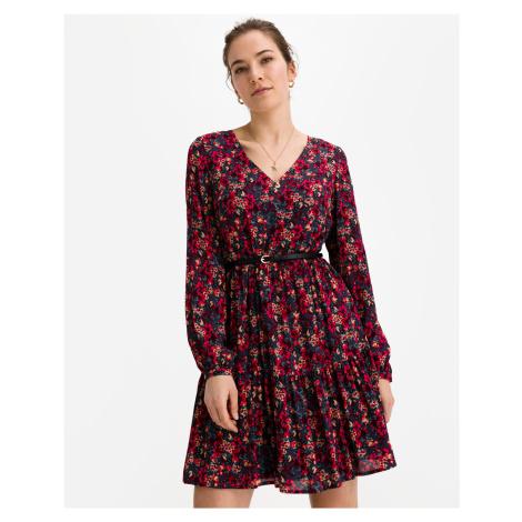 Liu Jo fialové květované šaty
