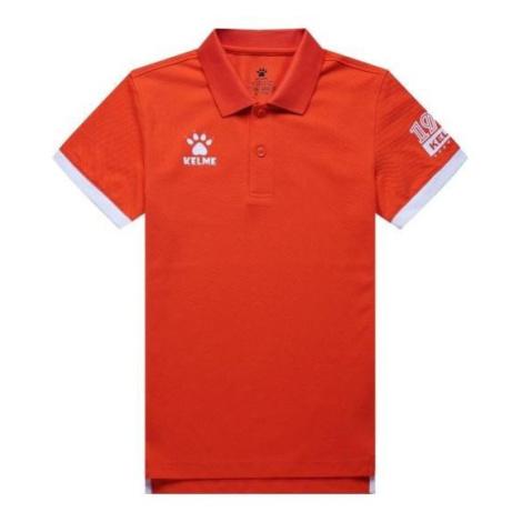 Dětské polotričko Kelme Classic Oranžová / Bílá